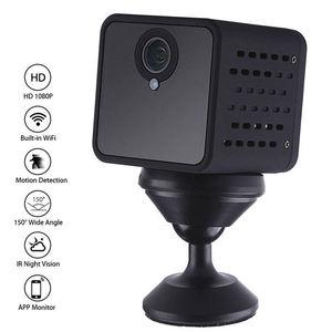 Image 2 - Wifi IP Mini Camera Draadloze Infrarood Body Camera Nachtzicht Bewegingsdetectie Mini DV Voice Video Recorder 1080P HD Camera f