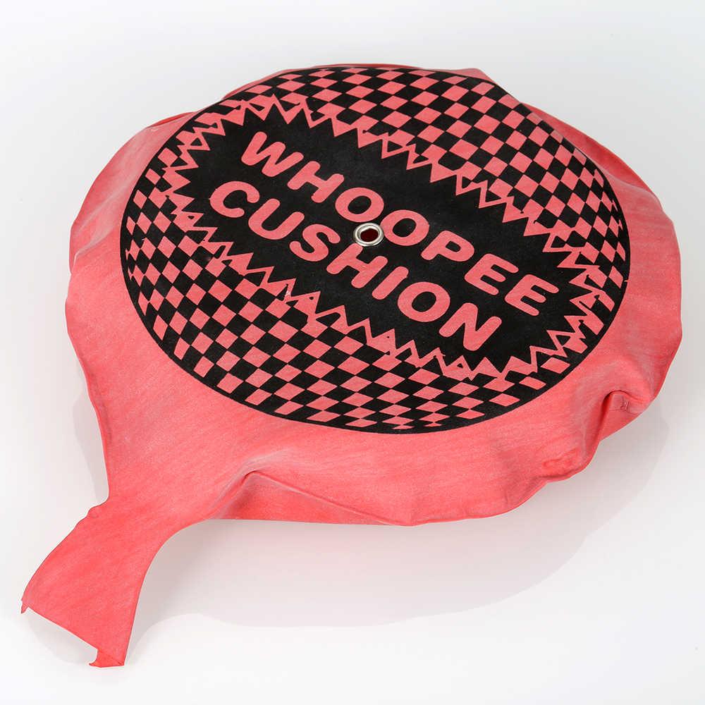 Yeni Gags şakalar komik Whoopee molası rüzgar yastık şakalar Gags şakalar Maker Trick koltuk minderi ped oyuncak osuruk ses ped rastgele renkli