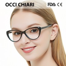 Free Shipping Fashion Eyewear Cat Eye Shape HandMade Prescription Lens Medical Optical Acetate Glasses Frame For Women  AGNES