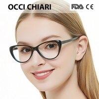 b8886b6c7 Free Shipping Fashion Eyewear Cat Eye Shape HandMade Prescription Lens  Medical Optical Acetate Glasses Frame For. O Envio gratuito de Óculos Da Moda  Olho ...