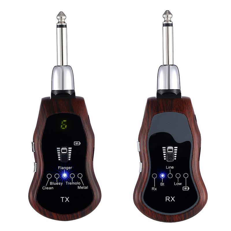 USB Перезаряжаемый K380C беспроводной гитарный Effector с несколькими звуковыми эффектами Amp Поддержка Bluetooth передача гитарных аксессуаров