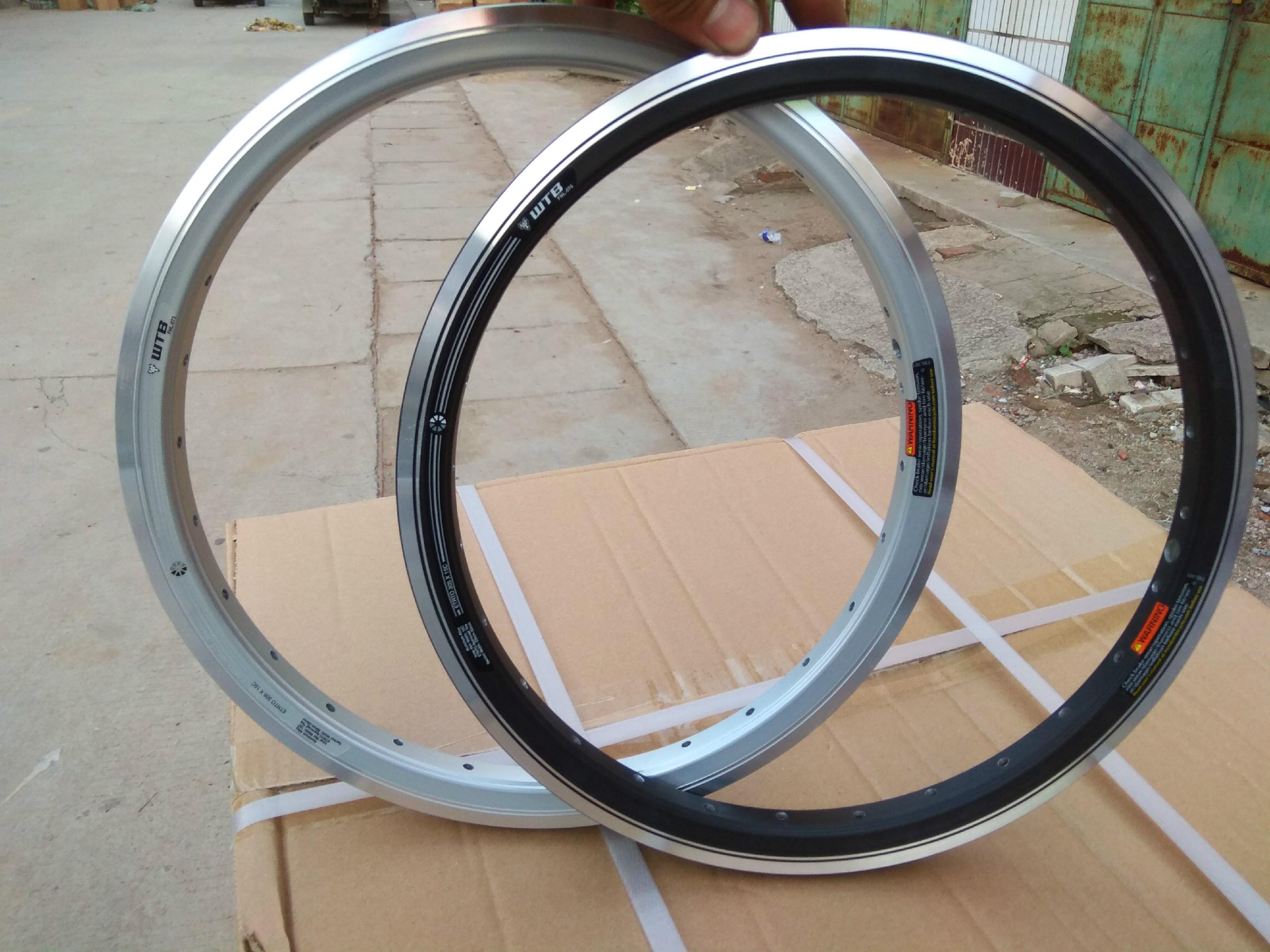 free shipping 27mm alloy kinlin XR270 clincher bike rims 20//24 holes