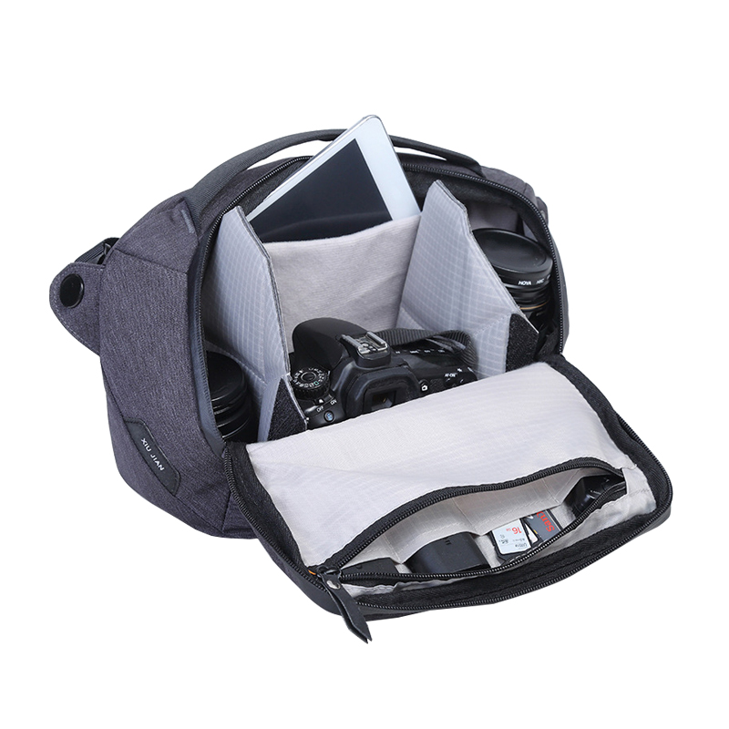 Mihawk Men Crossbody Handbags Fashion Solid Women Storage Bags Nylon Messenger Shoulder Pouch High Quality Camera Tote Supplies