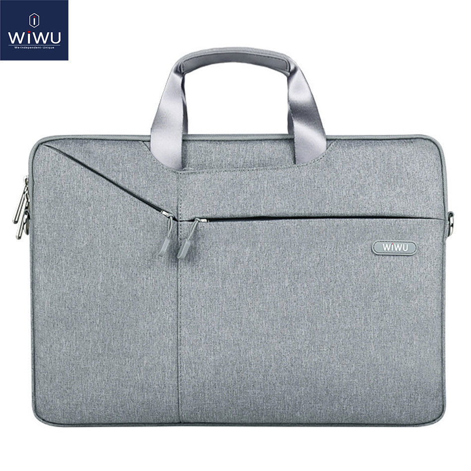 WIWU Laptop Bag 17.3 15.6 14.1 13.3 Waterproof Notebook Bag For Xiaomi Pro 15.6 Laptop Sleeve For Macbook Air 13 Case Pro 13 Bag