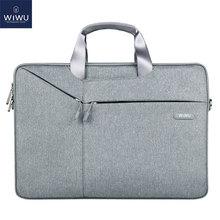WIWU Laptop Bag 17.3 15.6 14.1 13.3 Waterproof Notebook for Xiaomi Pro Sleeve Macbook Air 13 Case