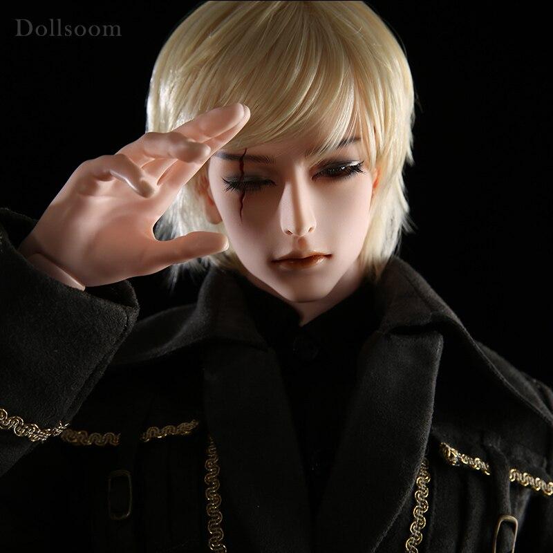 Idealian Hyperon Scar Hunter Vampire Mercenary from Hell 1 3 BJD Doll Body Man Uncle Muscular