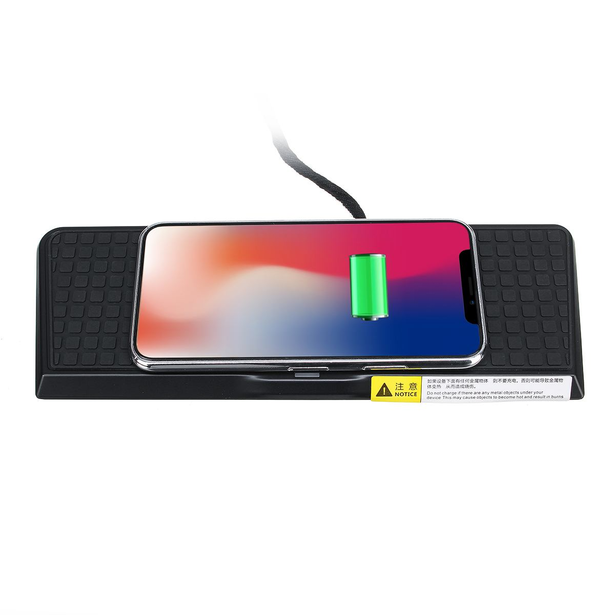 Car QI Wireless Charging Phone Charger Center Console For BMW X4 F26 X3 F25 2011 2017