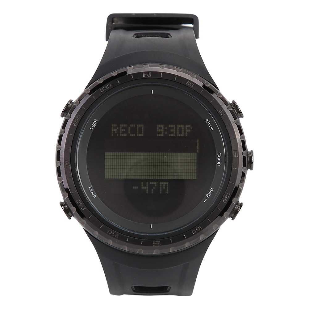Водонепроницаемый цифровой шагомер будильник высотомер таймер обратного отсчета секундомер калории компас бег Счетчик шагов светодиодный часы