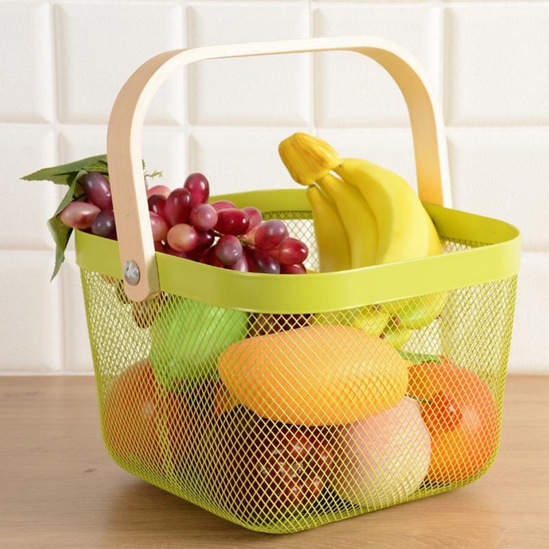Ordnung & Aufbewahrung Lovely Weben Ablagekorb Rattan Handarbeit Obst Essen Veranstalter Brot Körbe Handarbeit