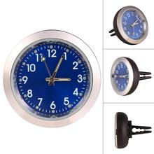 Car Quartz Outlet Clock Aromatherapy Electronic Perfume Gold Air Round Casual Fashion Blue