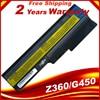 HSW batterie Für Lenovo B460 B550 G550 G555 G430 L08L6Y02 G430L G450 N500 G450A G450M G455 G450 G530 G530A