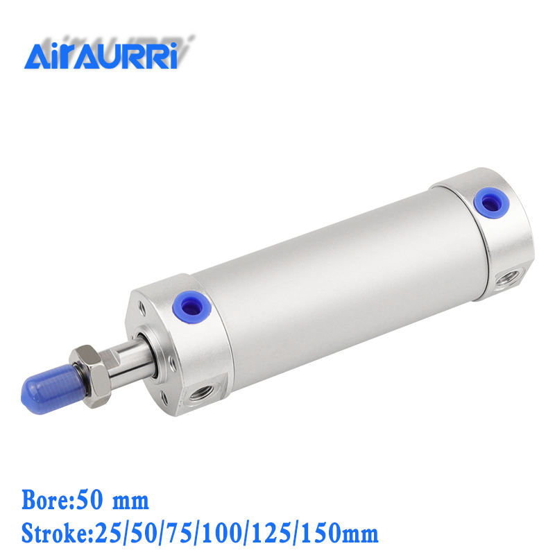 smc type pneumatic cylinder 50mm bore 25/50/75/100/125/150mm stroke CG1BN Rubber bumper / CG1BA air cushion round cylindersmc type pneumatic cylinder 50mm bore 25/50/75/100/125/150mm stroke CG1BN Rubber bumper / CG1BA air cushion round cylinder