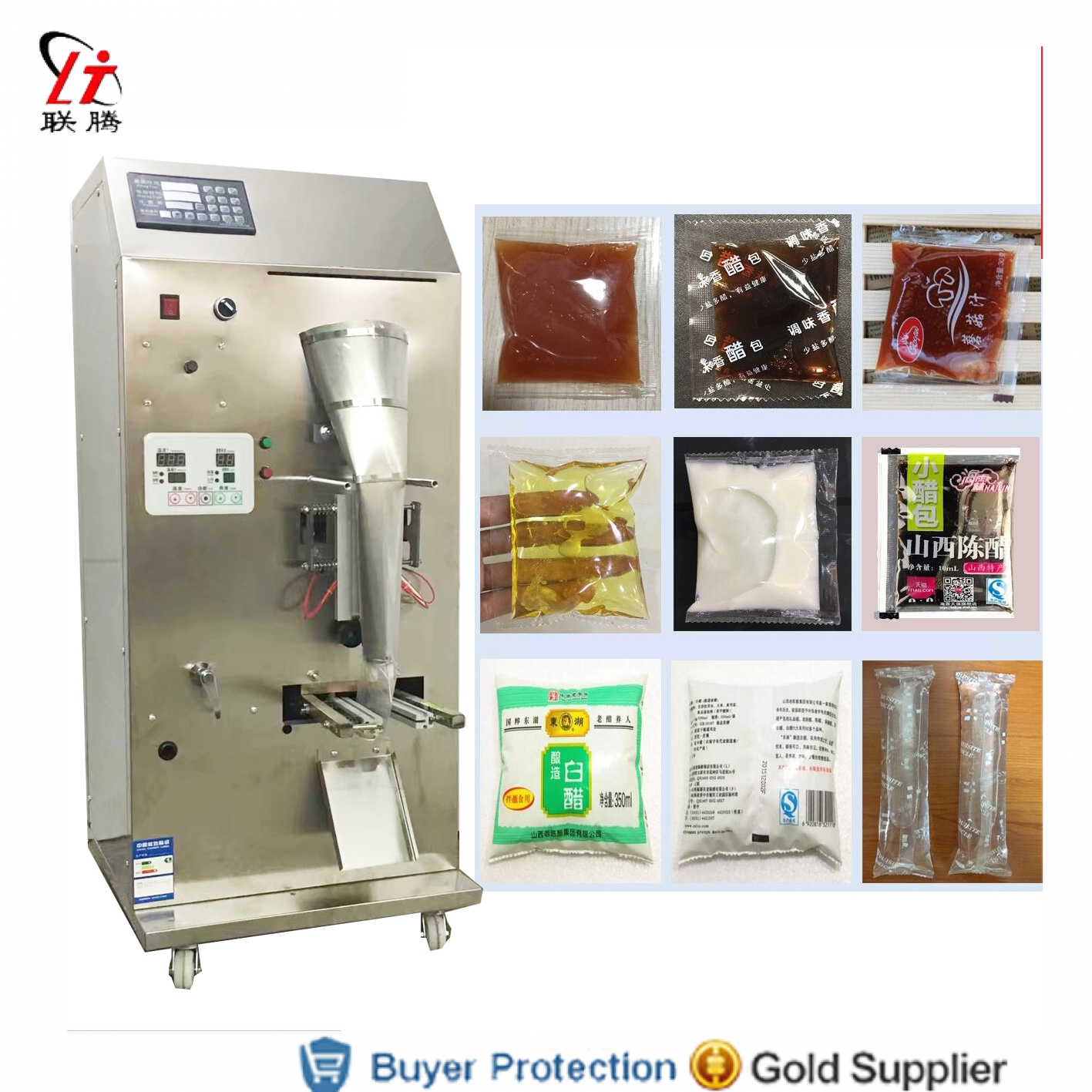 LT Fully Automatic Soy Sauce Vinegar Packing Machine Water