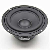 HIFIDIY LIVE HIFI 5.7 inch 5 Midbass Woofer speaker Unit 8OHM 90W Loudspeaker QA 5100