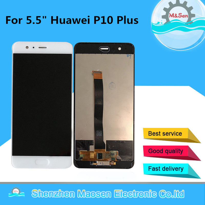 Original M&Sen For 5.5 Huawei P10 Plus VKY-L09 VKY-L29 LCD Display Screen+Touch Panel Digitizer With Bracket Frame+FingerprintOriginal M&Sen For 5.5 Huawei P10 Plus VKY-L09 VKY-L29 LCD Display Screen+Touch Panel Digitizer With Bracket Frame+Fingerprint