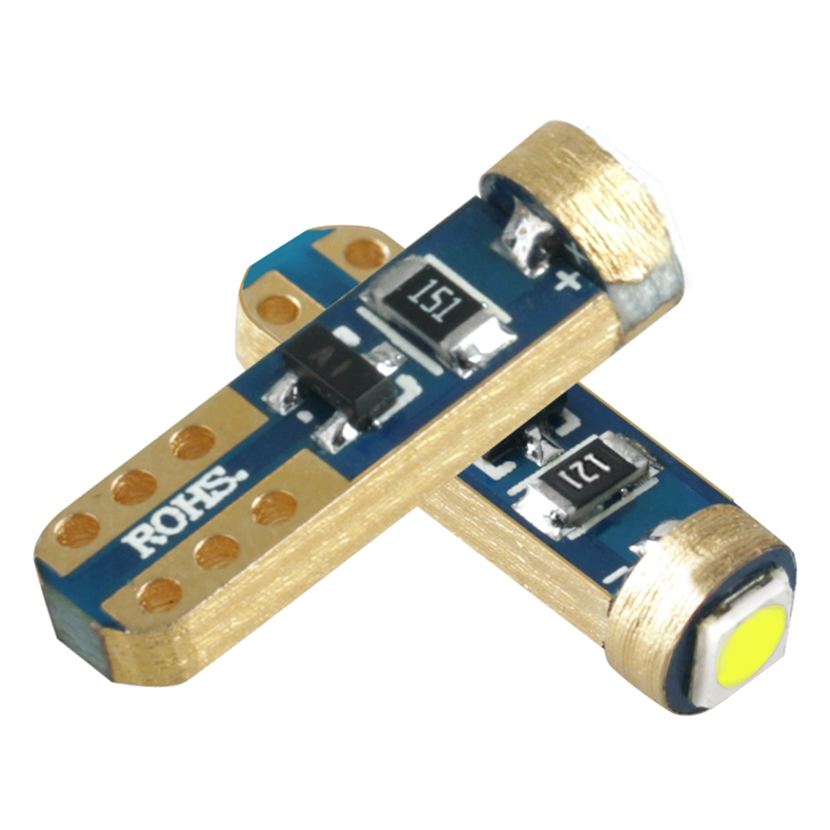DHBH-4Pcs Car Interior <font><b>T5</b></font> <font><b>Led</b></font> 1 Smd DC 12V <font><b>24V</b></font> Bulbs Light Ceramic Dashboard Gauge Instrument Ceramic Car Auto Side Wedge Lamp image
