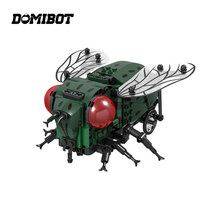 Domibot Electronic Fly RC Smart Robot Toy Mecanum Wheels Obstacle Avoidance Toy Gift(China)