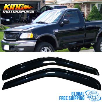 Fit For 97-03 Ford F150 F250 Standard Cab Acrylic Window Visors 2Pc Set Global Free Shipping