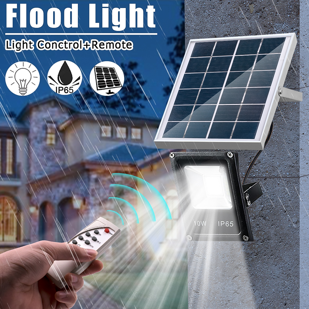 The Latest Solar Floodlights 20W Remote Control + Timer + Lighting Control Outdoor Lighting Waterproof LED Spotlight Garden LampThe Latest Solar Floodlights 20W Remote Control + Timer + Lighting Control Outdoor Lighting Waterproof LED Spotlight Garden Lamp