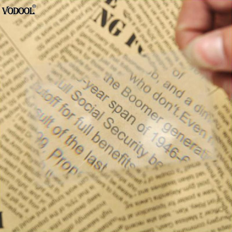 1 шт. 3X Мини Кредитная карта размеры Лупа считывающие увеличительные стекла объектив портативный карманный прозрачный увеличительное стек...