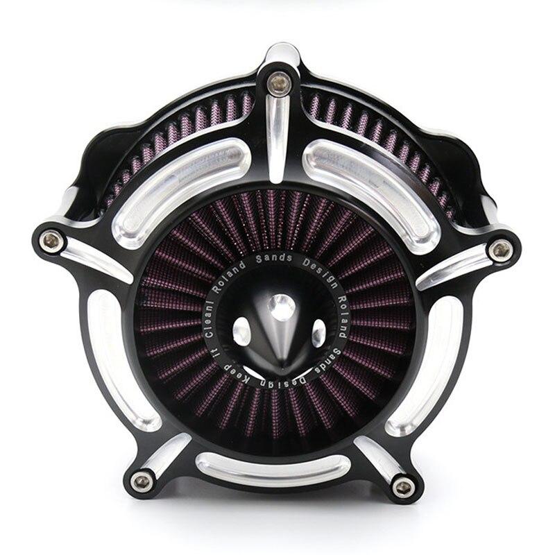 Filtre d'admission pour filtre à Air pour Harley Dyna Softail Touring Road King Street Glide FXDLS FLSTSE FXSBSE - 4