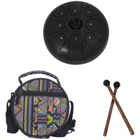 Hot Sales 5.5 Inch Steel Tongue Drum Set Music Instrument Children Learning And Exercising Type Toy Musical Instrument Gifts