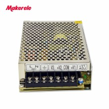 5V 15V -15V Switching Power Supply Three Output AC To DC 75W Triple Output Net-75c Enclosed Led Switching Power Supply SMPS free shipping 1pc rt 125c 132 5w 5v 10a triple output switching power supply