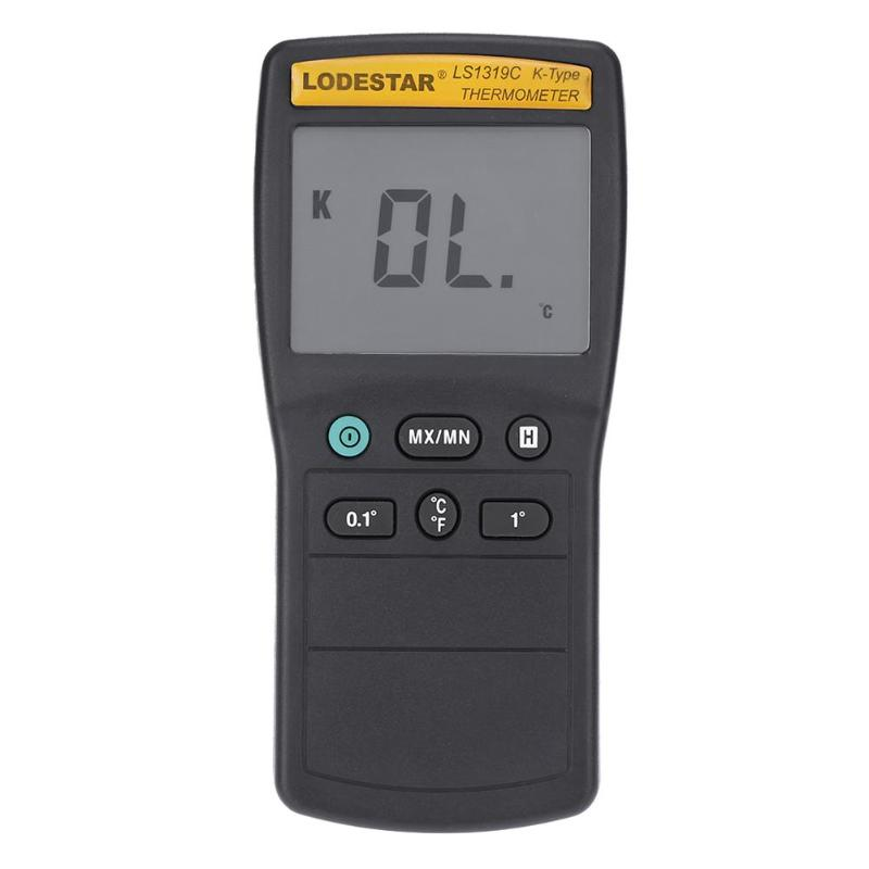 LS1319C LCD K Type Thermocouple Thermometer Temperature Meter with Probe