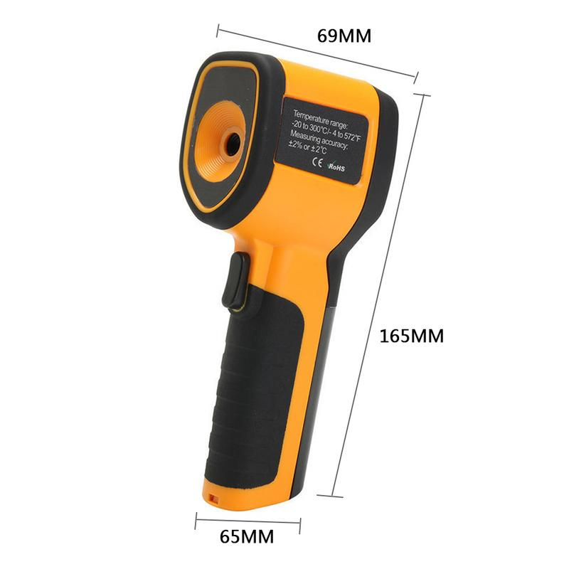 HT-175/HT-02 цветной экран цифровой Инфракрасный Тепловизор тепловизор ручной инфракрасный камера термометр