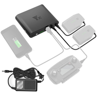 Charging Power Bank Mobile Power Transverter Outdoor Charger for DJI Mavic Pro Battery Remote Controller Phone US /EU Plug