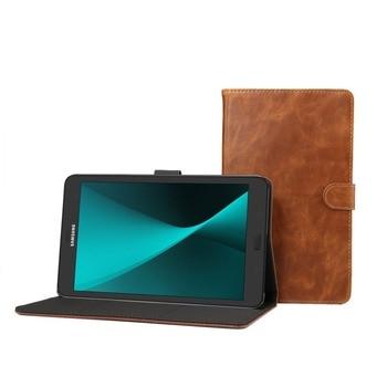 83dc7c3f640 Fundas de lujo con soporte magnético para Tablet para Samsung Galaxy Tab A  8,0 T380 T385 SM-T385 PU Funda de cuero Funda + lápiz óptico + película.