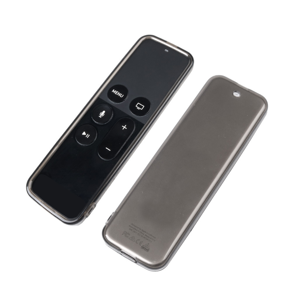 2019 New Protective Remote Case Soft Clear TPU Protective Case Sleeve Cover For Apple TV 4th Remote Case Transparent