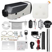 Обогревателя автомобиля 12 V/24 V 5000W Дизельный подогреватель воздуха дизель стояночный отопитель комплект оборудование для обогрева с ЖК-дисплей переключатель Дисплей