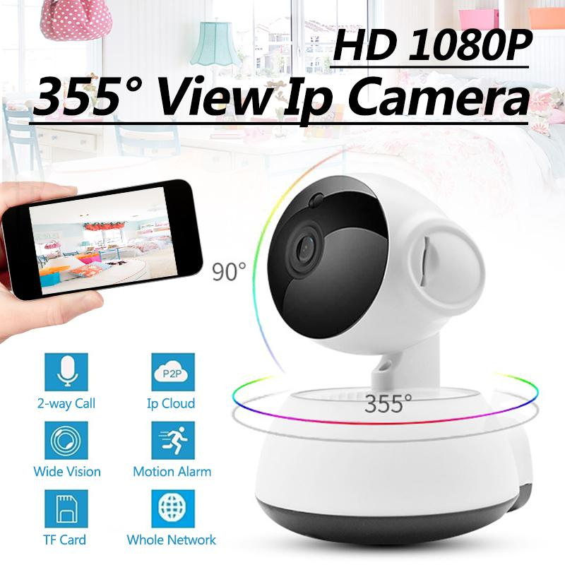 HD 1080P Wireless IP Camera Home Security Surveillance Camera Panoramic Two Way Audio Night Vision CCTV WiFi IP Cam Baby MonitorHD 1080P Wireless IP Camera Home Security Surveillance Camera Panoramic Two Way Audio Night Vision CCTV WiFi IP Cam Baby Monitor