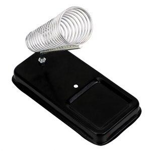Image 2 - Elektryczna podstawka do lutownicy DIYWORK z podkładkami do spawania gąbka do czyszczenia ogólna odporność na wysoką temperaturę