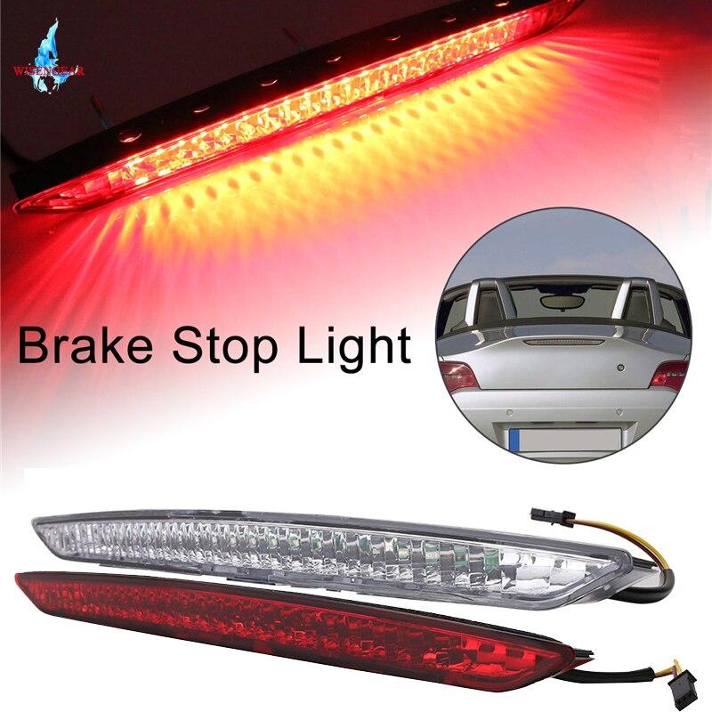 Pour BMW E85 Z4 coffre troisième feu stop blanc rouge clair LED feu arrière feu de signalisation 2003-2008 63256930246 WISENGEAR/