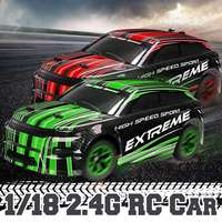 1/18 RC Truck 2.4G High Speed Off Road Remote Control Drift Racing Car Crawler Plastic+Electronic component Full Functions