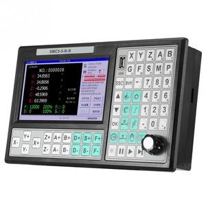 Image 2 - CNC 5 ציר מחובר הבקר 500KHZ תנועה בקר 7 אינץ גדול מסך להחליף מאך 3 USB עבור חריטה כרסום מכונת