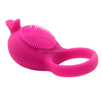 10 Frequency of Vibration Penis Ring Dolphin Clitoris Stimulator Delay Lasting Cock Rings Male Sex Toys for Men Sex Products