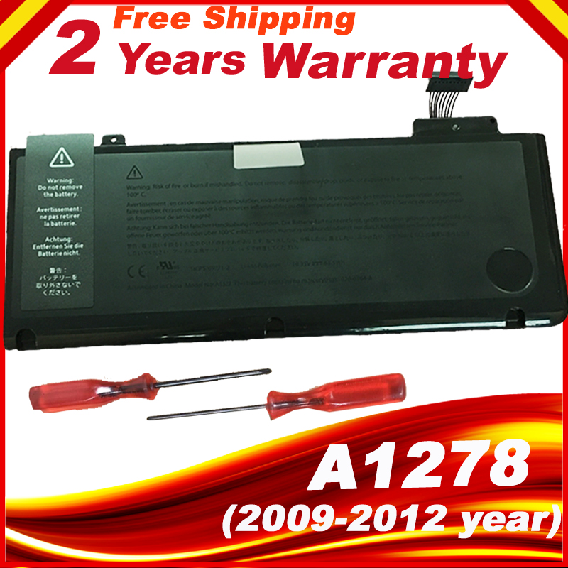 "A1322 Battery For Apple Macbook Pro 13"" A1278 Mid 2009/2010/2011/2012"