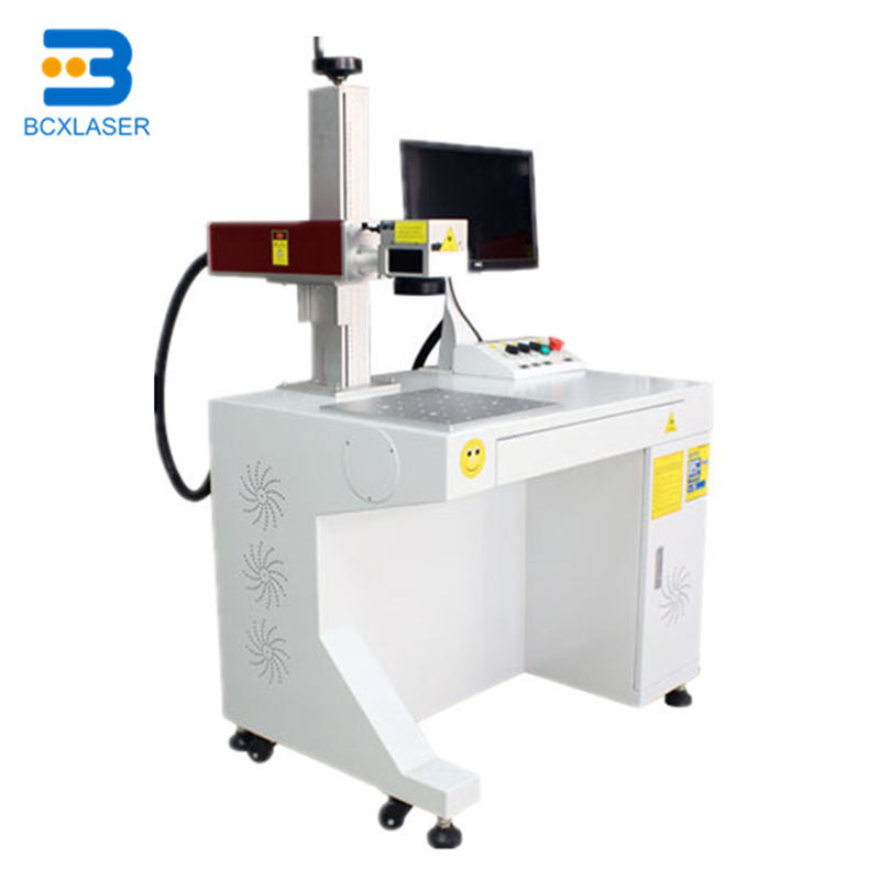 10w 20W 30w Mopa Fiber Laser Color Laser Marking Machine For Colorful Marking On Stainless Steel And Black Marking On Aluminum