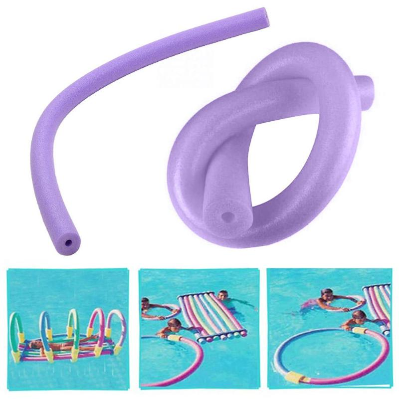 Ring Buoyancy Stick Pool Noodle Water Flexible Learn Swimming Floating Inflatable Water Float EPE Color Swimming Rings