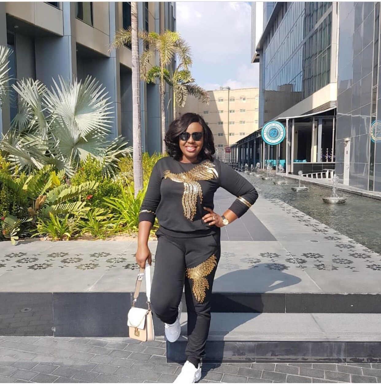 2019 африканская одежда, высокая эластичность, хлопок, двойной феникс, алмаз размера плюс, костюм для леди Дашики и брючный костюм
