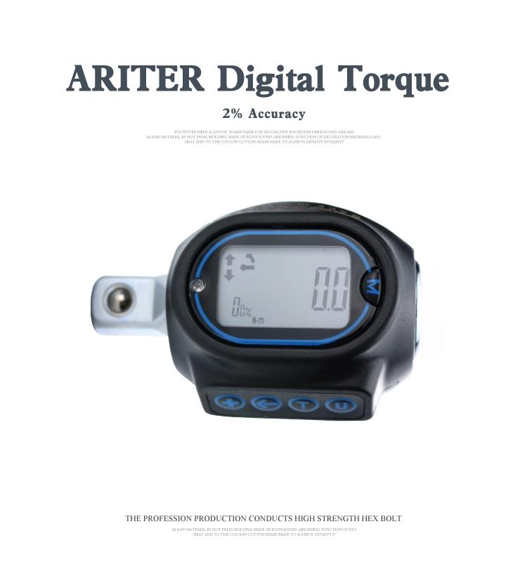 Auto Repair Digital Torque Adaptor Digital Torque Wrench 1/4