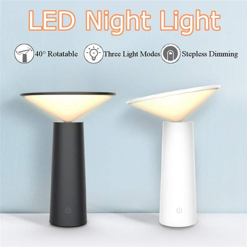 Schreibtischlampen Lampen & Schirme FleißIg Claite 4 W Kreative Drehbare Tisch Lampe Led Hand Sensor Dimmen Deak Lampe Usb Aufladbare Augenschutz Lesen Licht Attraktives Aussehen