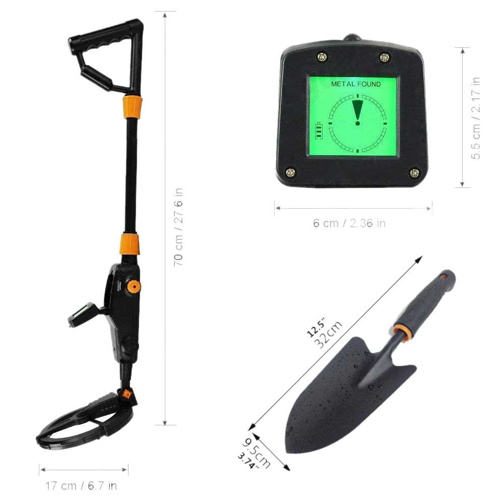 WSFS Hot Professtional Metal Detector MD-1008A Advanced Kid's Gold Finder Treasure Hunter Pro Underground Metal Detector