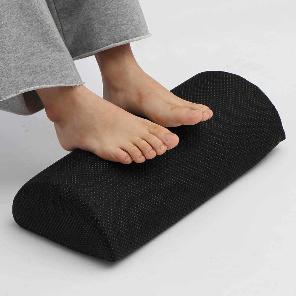 Для дома компьютер работы Длинные кухонные ковры подушка для ног поддержка ног под стол подставка для стоп Пена Подушка