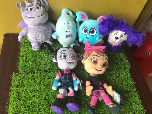 "Newest Vampirina Plush doll Stuffed Girl Dog Soft Toy 10/"" 8/"" Kids Gift Prop"