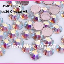 1440 шт./лот, ss20(4,8-5,0 мм) высокое качество кристалл dmc AB железо на кристаллах/стразы горячей фиксации