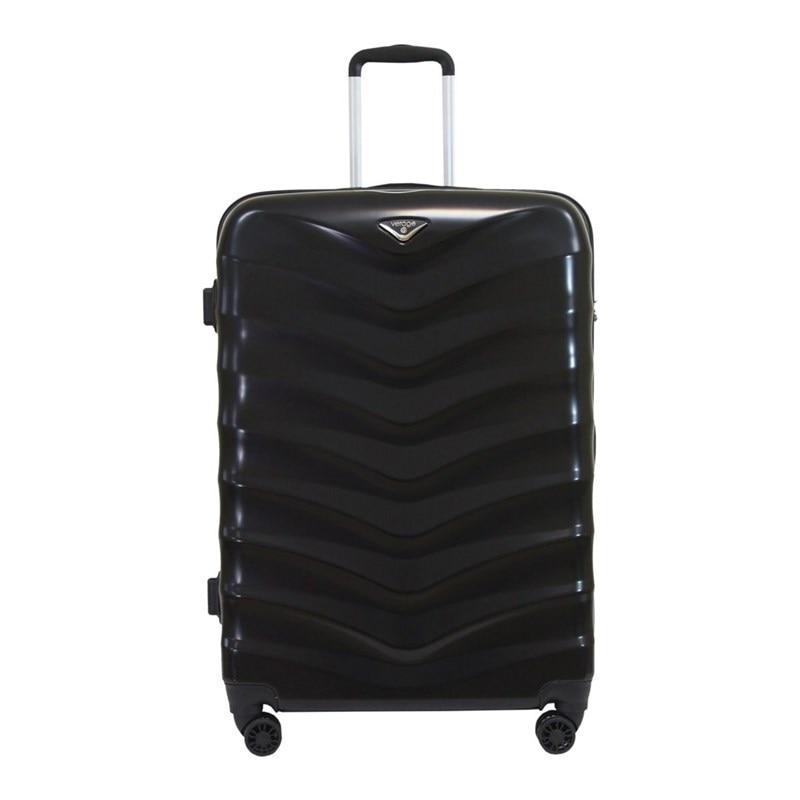 Suitcase-trolley Verage GM15059W28 black portable plastic folding trolley black